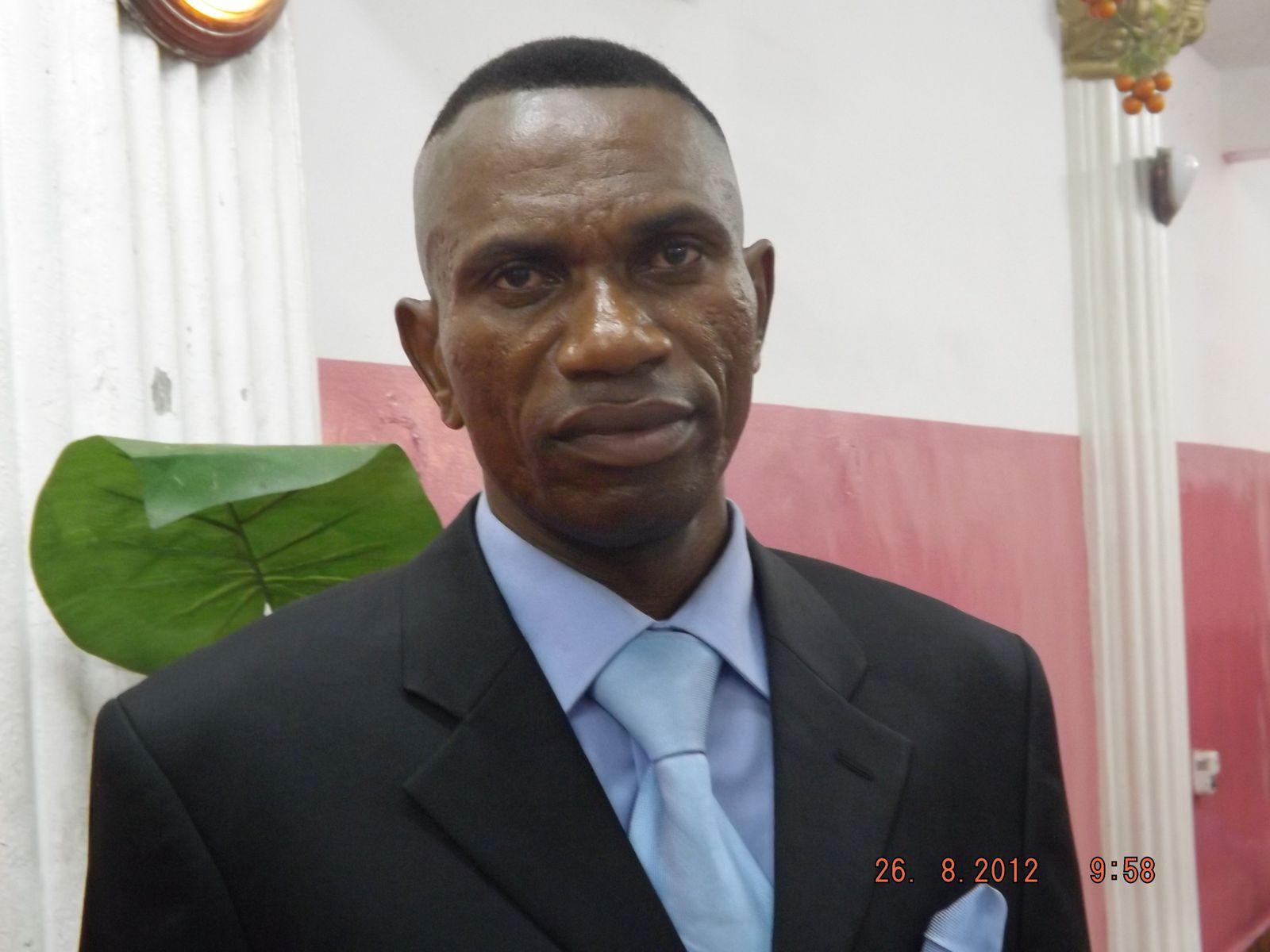 Directeur Général du GSF, l'Ingénieur SASA MUBWANKINI NOEL