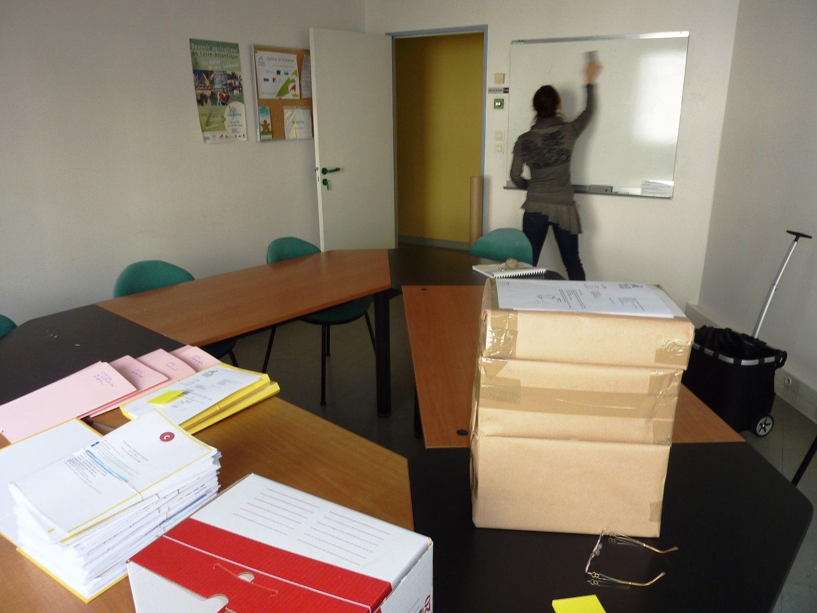 Fin de chantier, les paquets sont prêts à être transmis à la Région