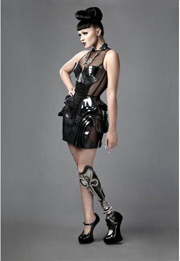 Membres alternatifs, quand la prothèse devient design.