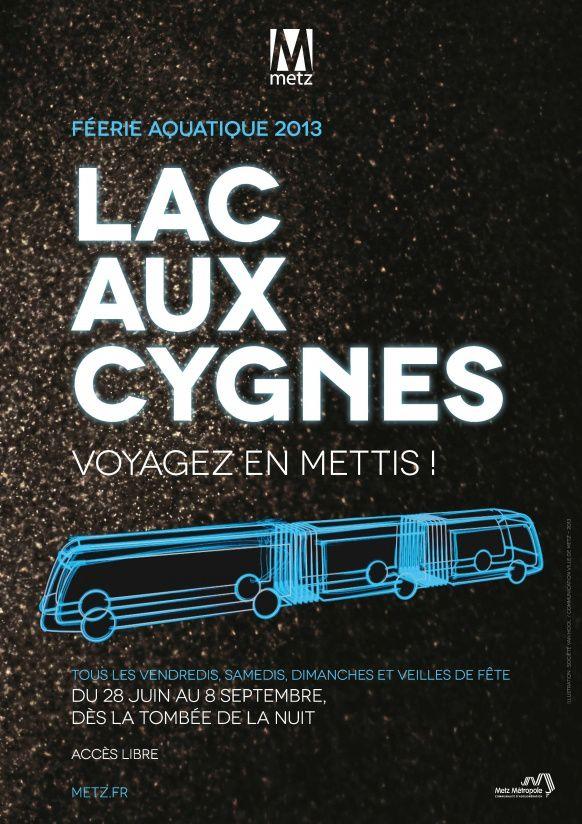 LAC AUX CYGNES / FÉERIE AQUATIQUE