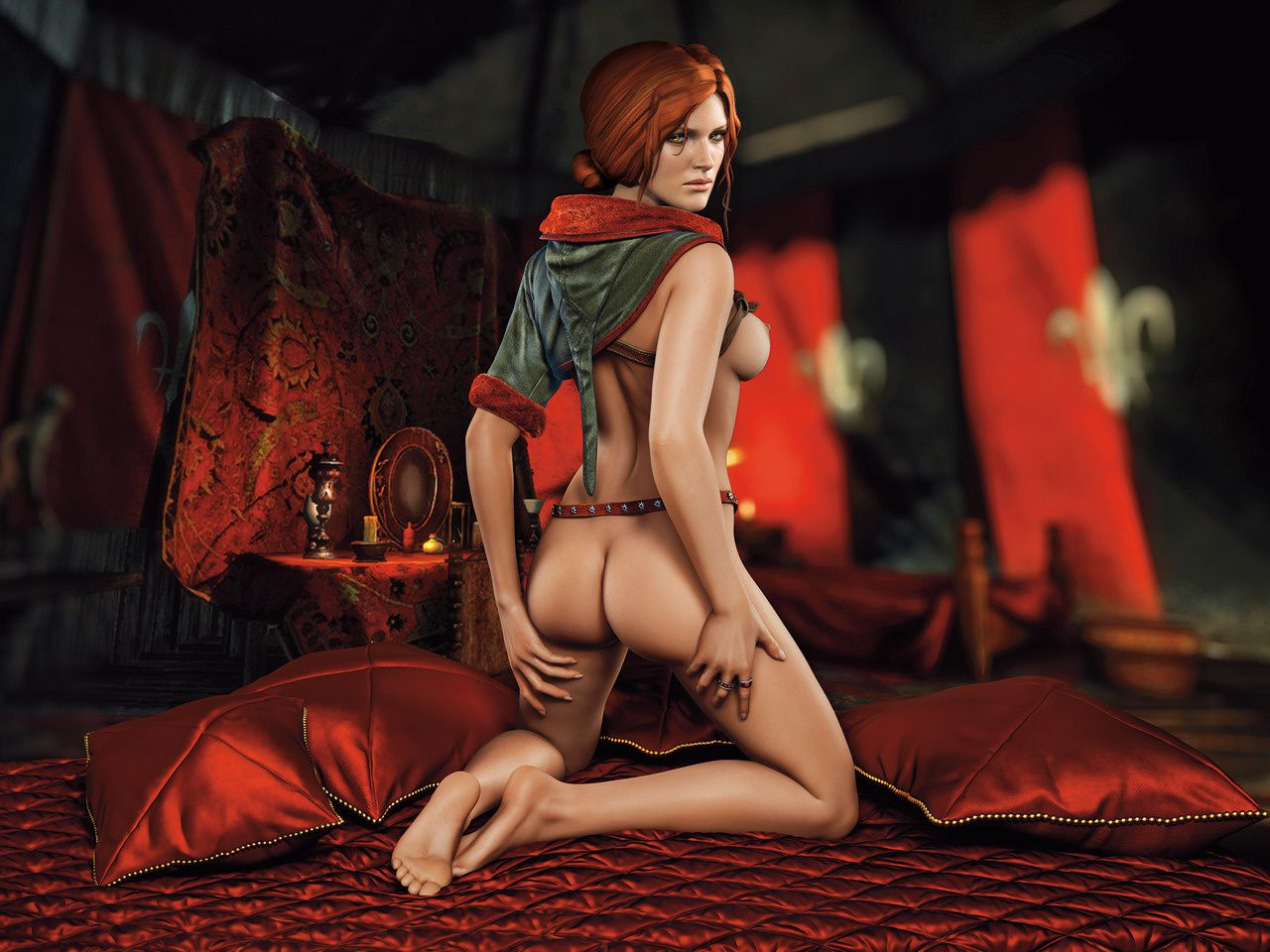 Triss Merigold ( The Witcher 2 )