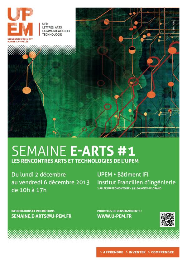 Semaine E-ARTS #1