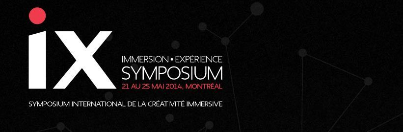 Symposium International de la Créativité Immersive 2014.