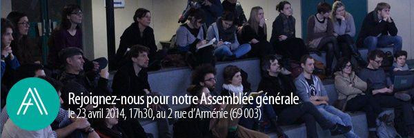 ASSEMBLÉE GÉNÉRALE DE L'AADN