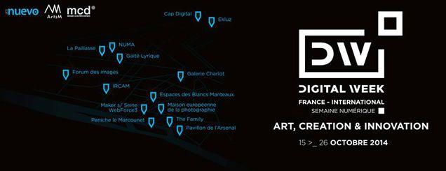 DIGITAL WEEK 2014 À PARIS