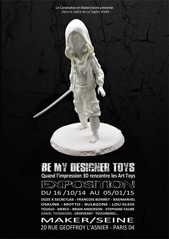 EXPOSITION: « BE MY DESIGNER TOYS »