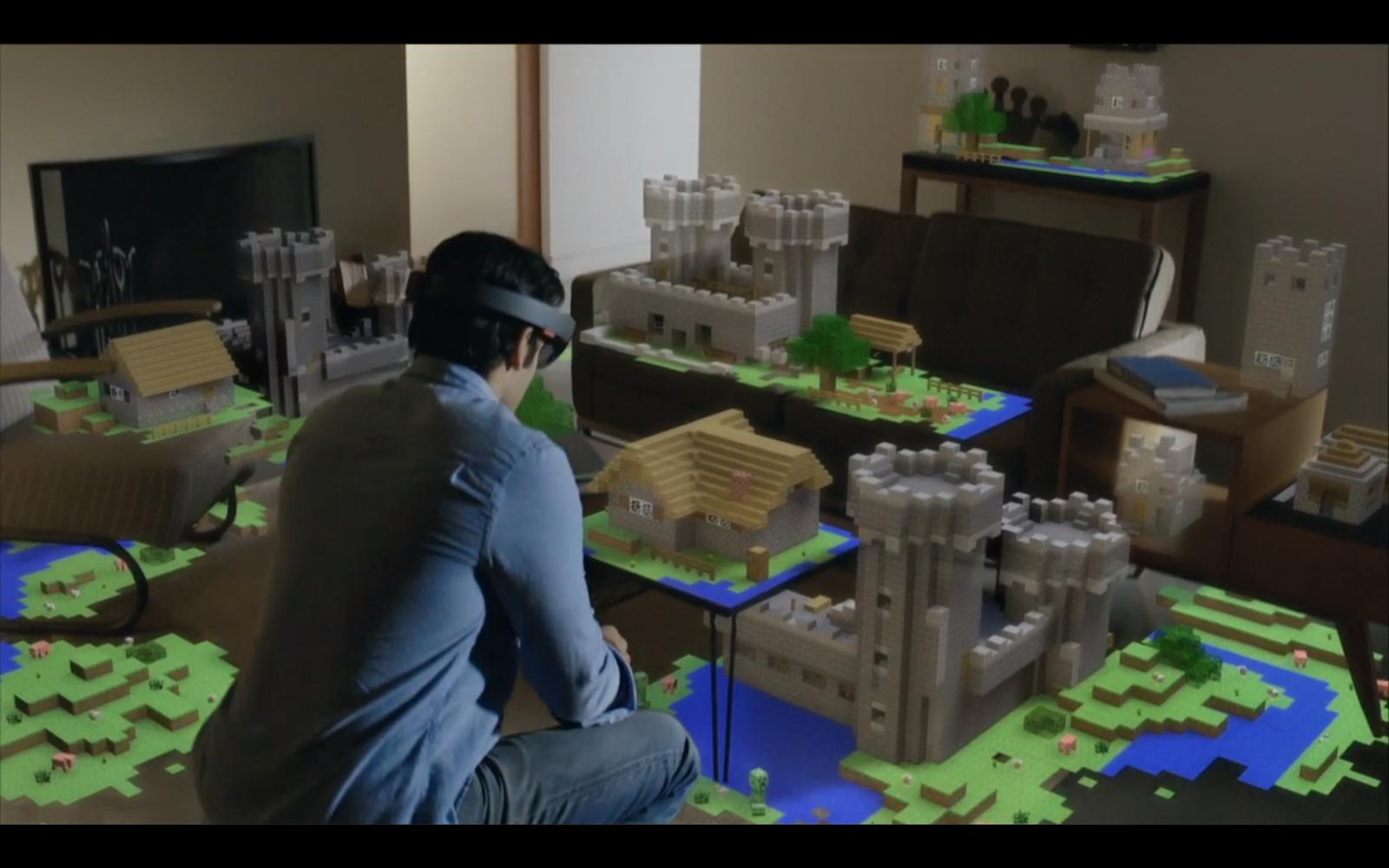 HoloLens : Microsoft dévoile un casque holographique