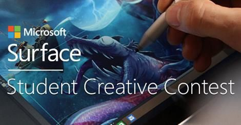 Microsoft Surface Student Creative Contest