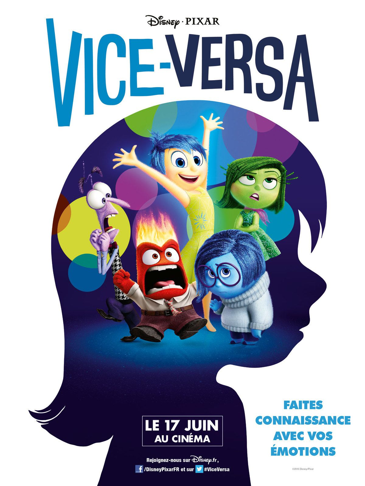 Vice Versa - Faites connaissance avec vos émotions.