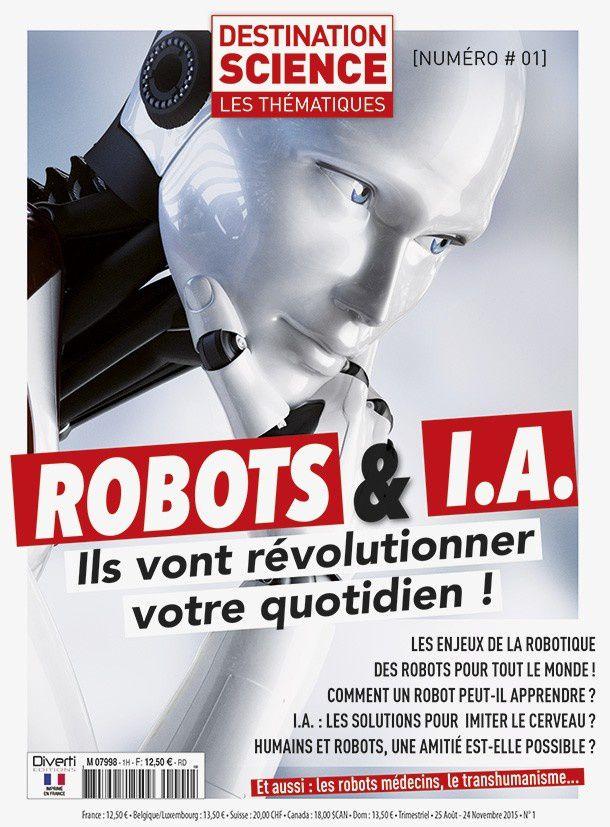 ROBOTS et I.A. - Les thématiques de Destination Science