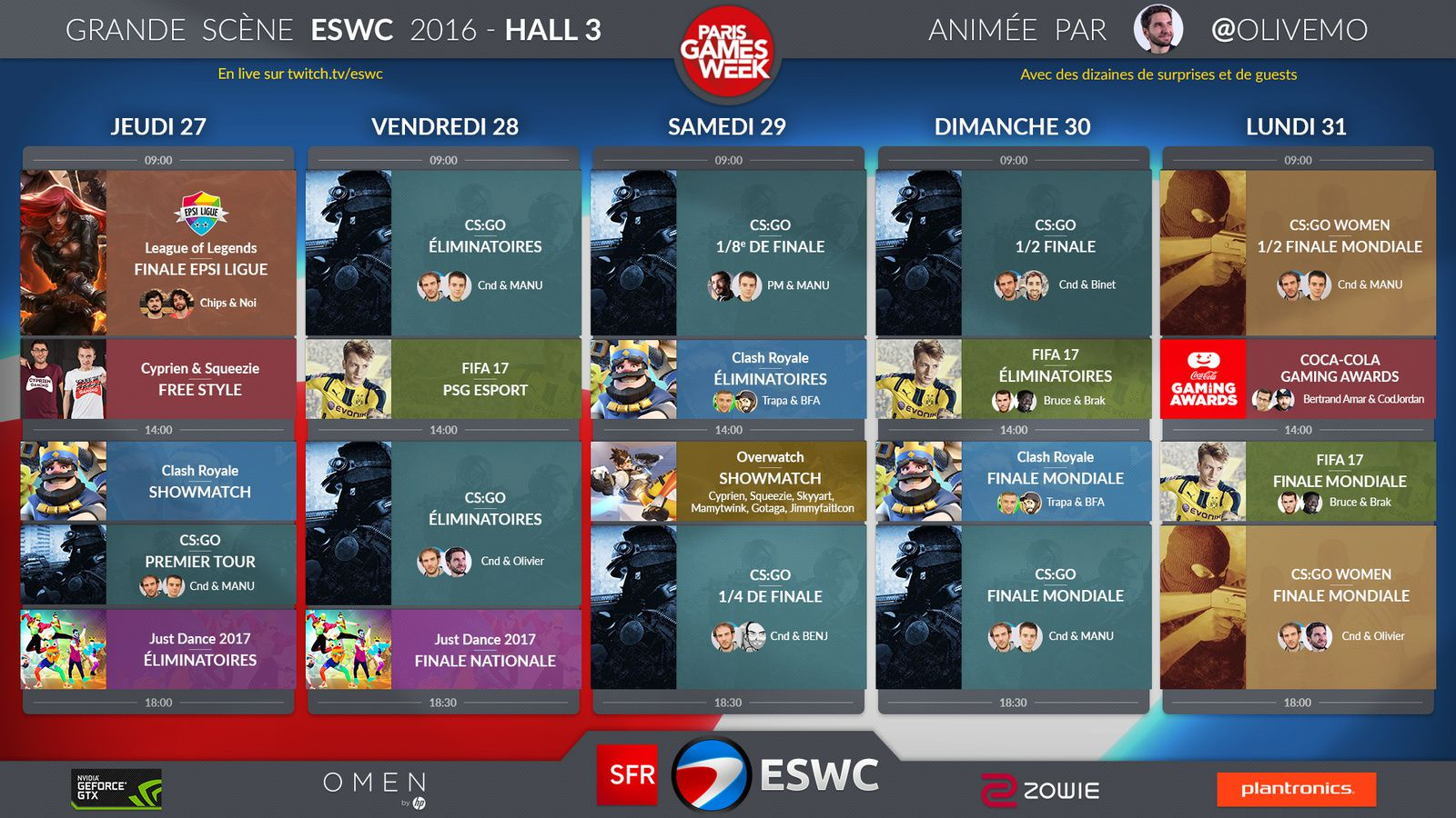 Le salon PARIS GAMES WEEK
