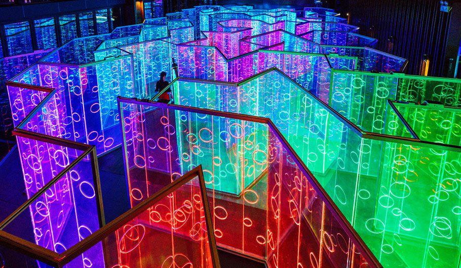 Yǔzhòu, un labyrinthe lumineux