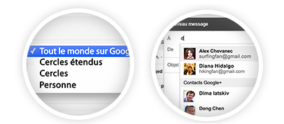 Configuration de réception dans Gmail - Suggestions dans vos nouveaux emails