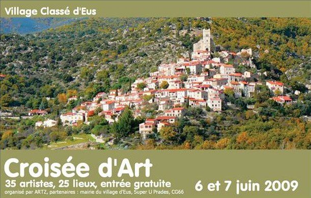 Croisée d'art 2009, le village