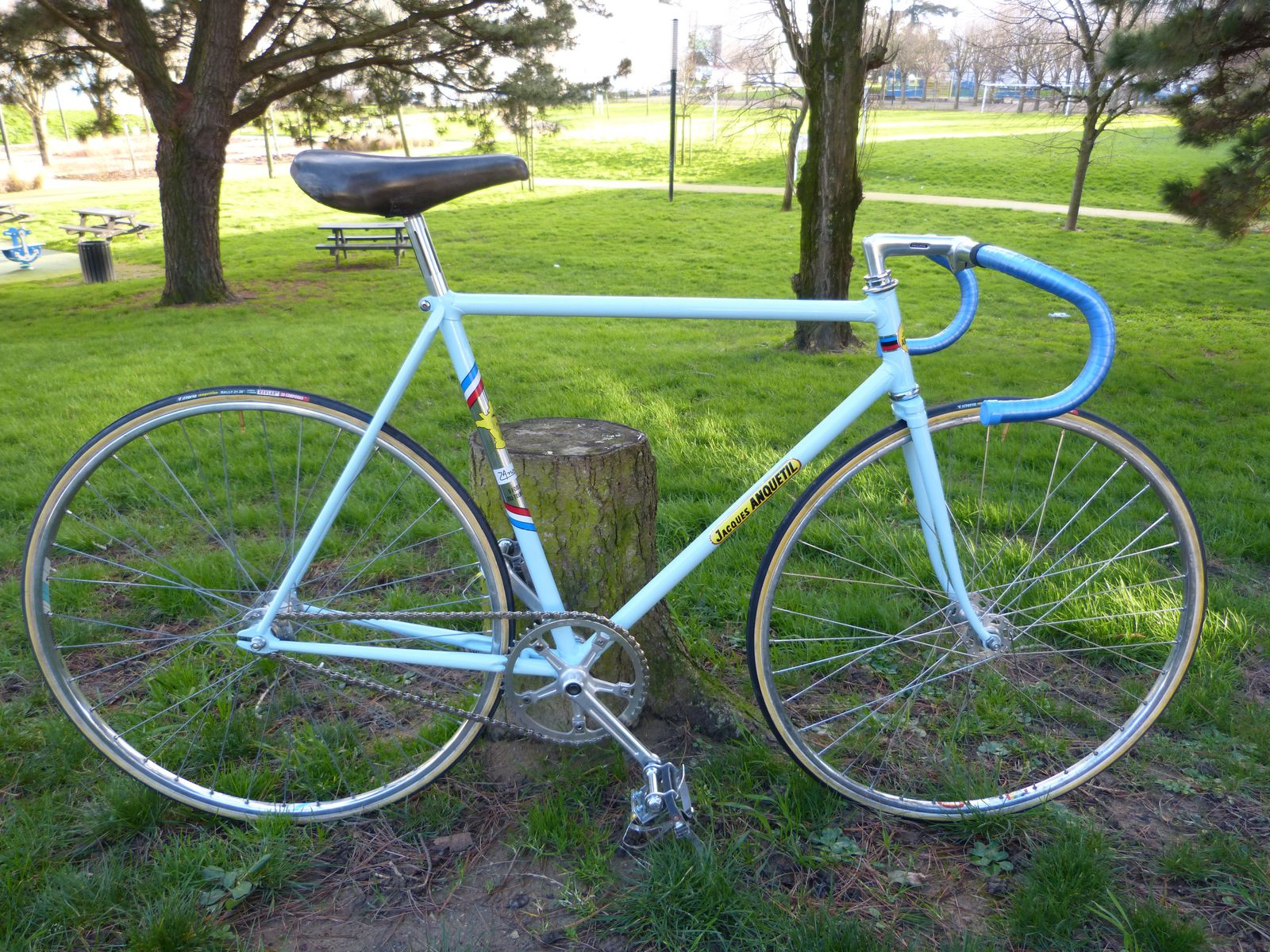 Jacques Anquetil Pista