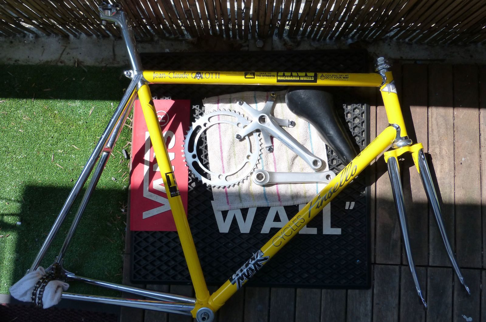 Pinsello Track Frame for sale !!