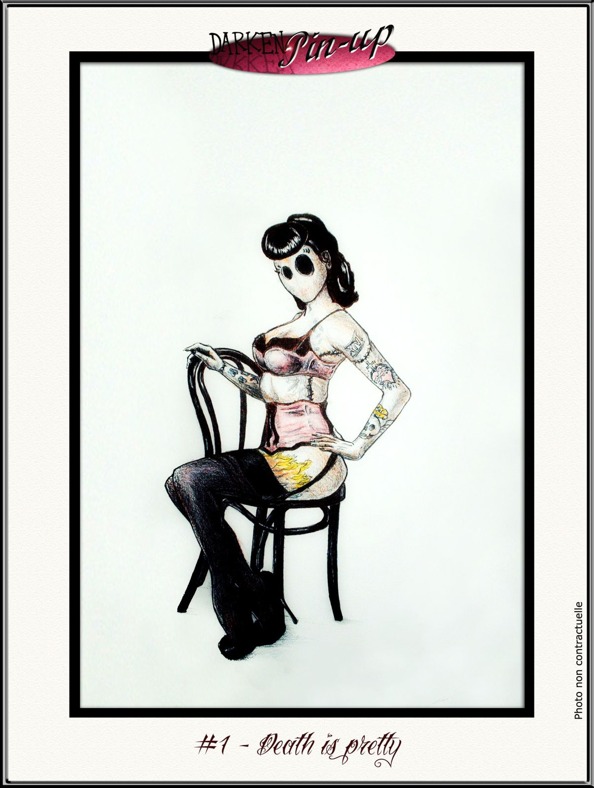 Darken Pin-Up