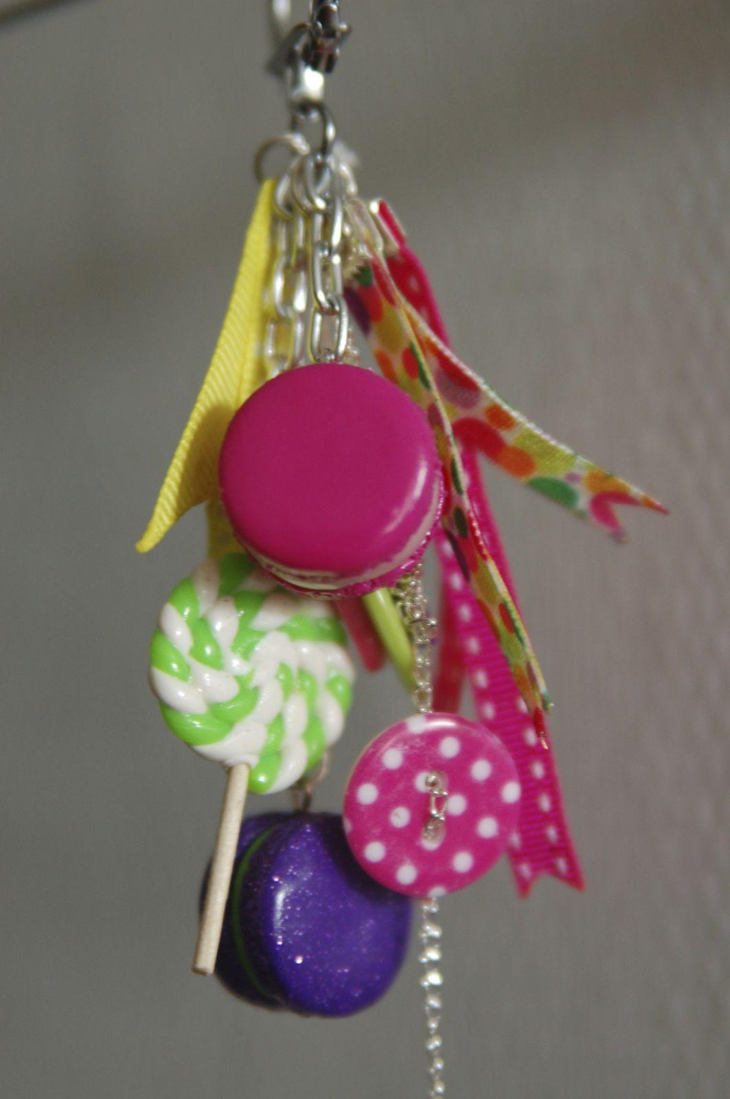 Porte clefs haut en couleurs !