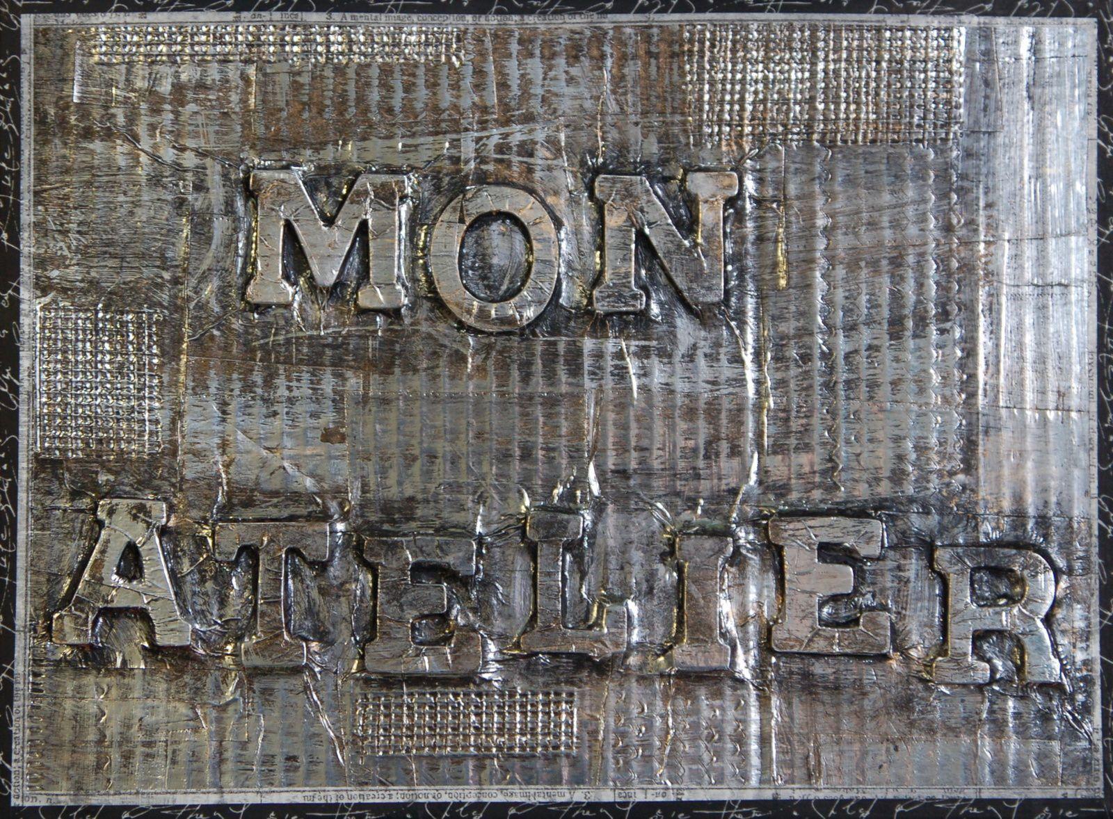 Plaque métal