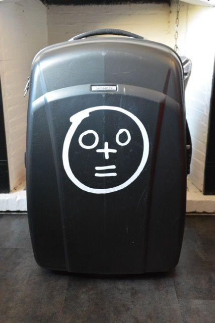 Nouveaux stickers de valise
