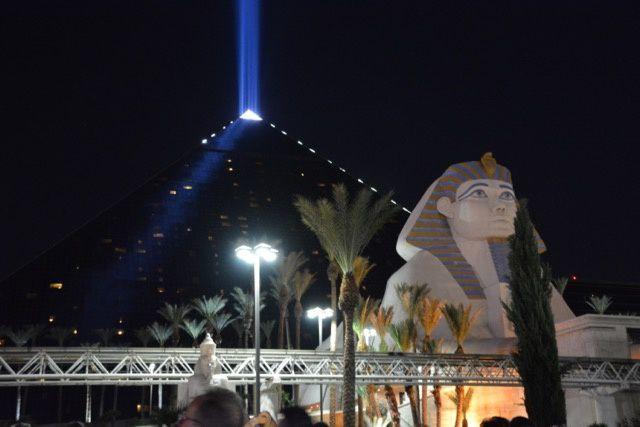 le Louxor à Las Vegas