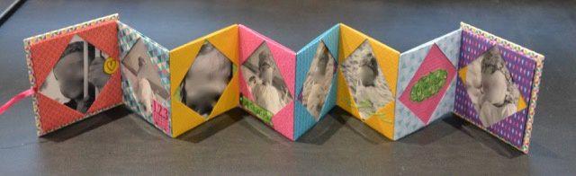 Mini album origami