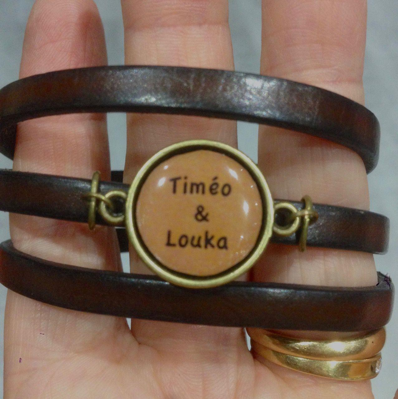 Customisation de bracelet