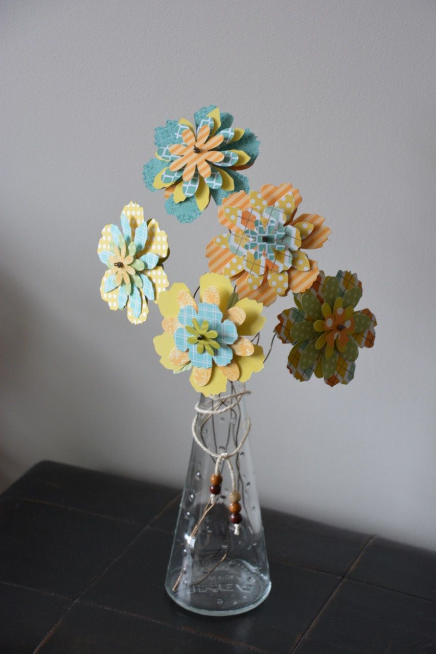 Un bouquet de papier