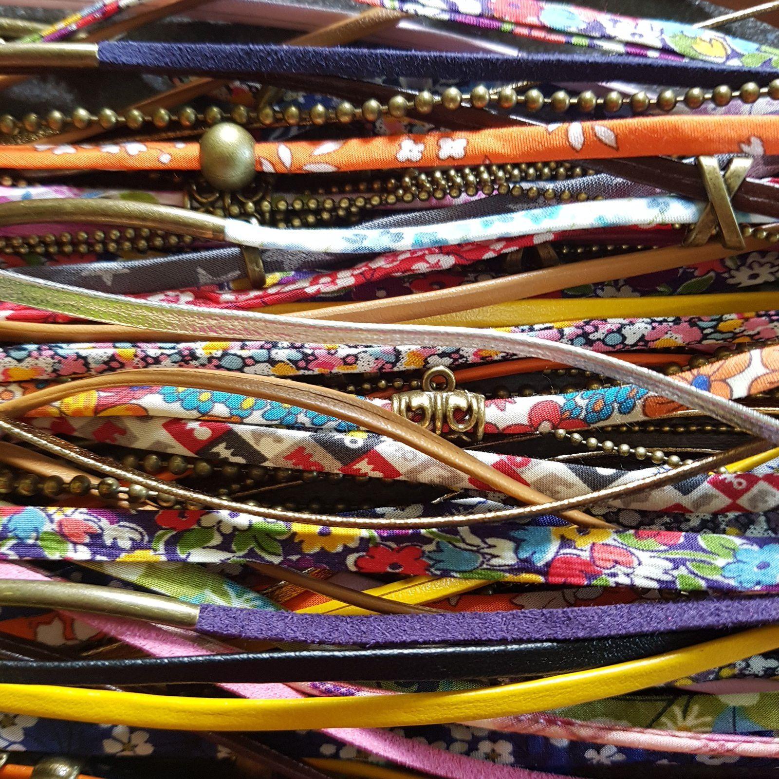 pas moins de 35 modèles de bracelets différents ...