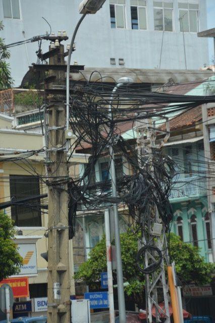 un réseau électrique quelque peu confus ....