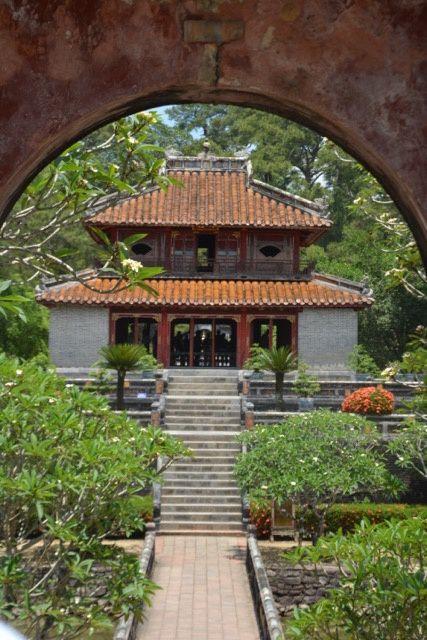 mausolée de l'empereur Minh Mang