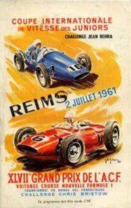 Affiches Circuit de Reims