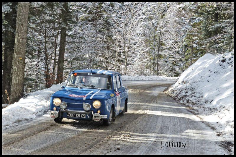 Au départ de Reims et en Action dans la neige
