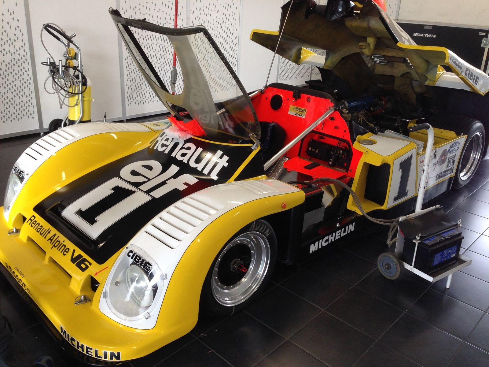 50ème anniversaire pour la marque de l'Alpine A 110 Berlinette