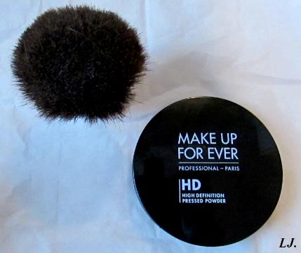 La poudre HD compact de chez Make up forever