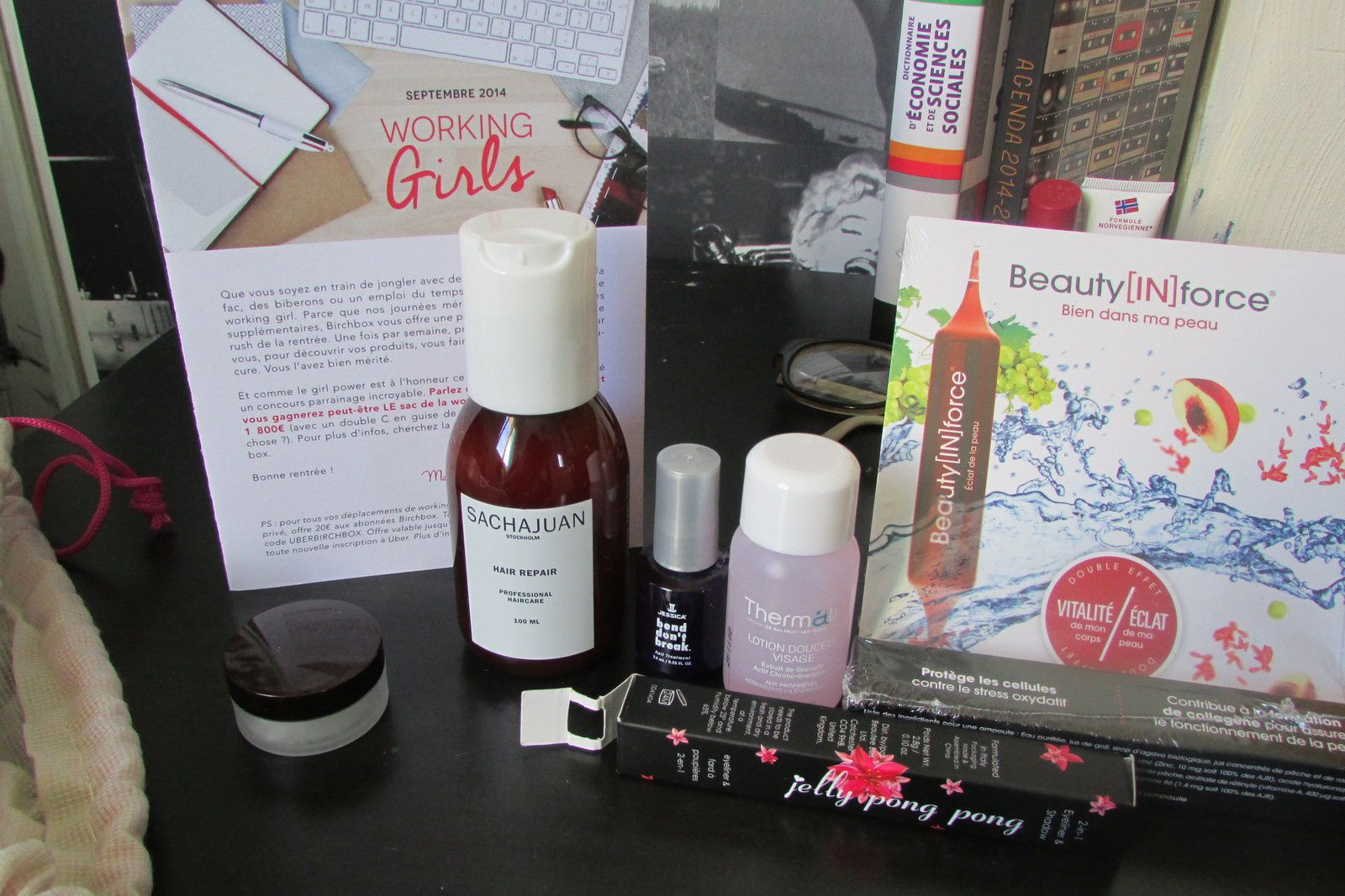birchbox septembre 2014 - working girl