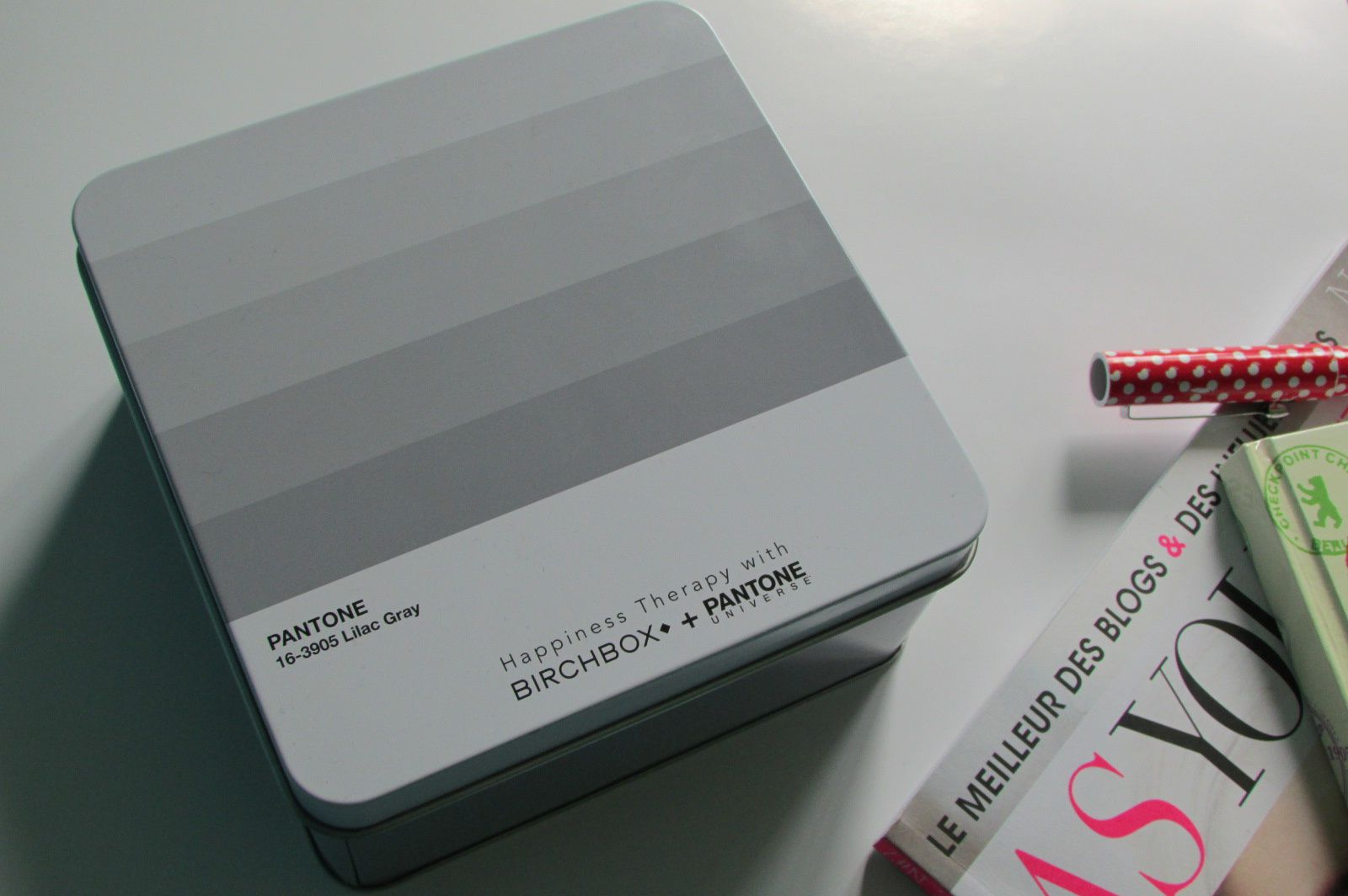 Happiness therapy with Birchbox x Pantone #Avril 2016#
