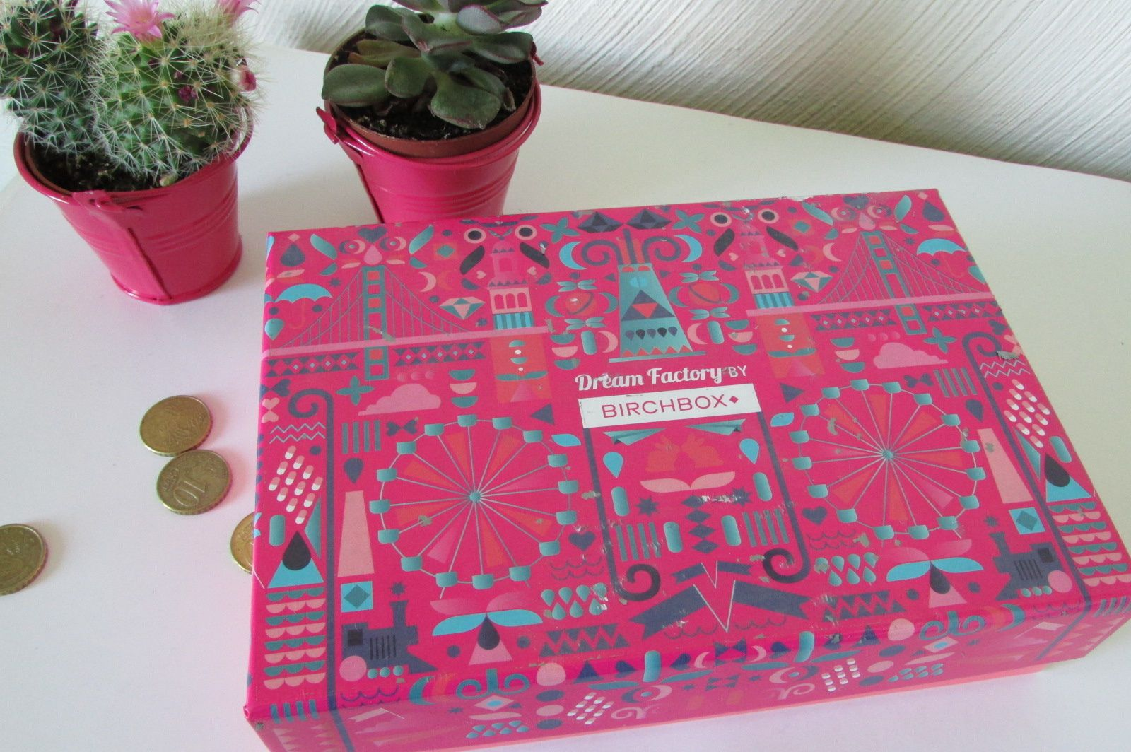 Birchbox &quot&#x3B;Dream fractory&quot&#x3B; #Mai 2016 (+ commande)