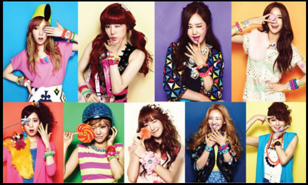 GIRLS' GENERATION / SNSD ( So Nyeo Shi Dae ) ~ Un son pop 100% girly ! ♥