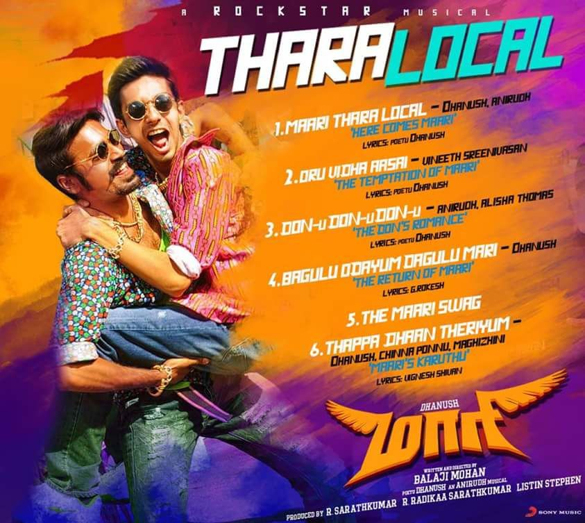 A hero musical made with Maari's style touch !