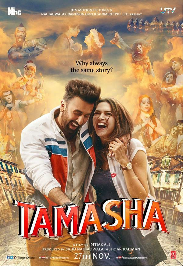 ♥ Let's go to a lovely musical travel with Tamasha  ( 2015 ) ♥