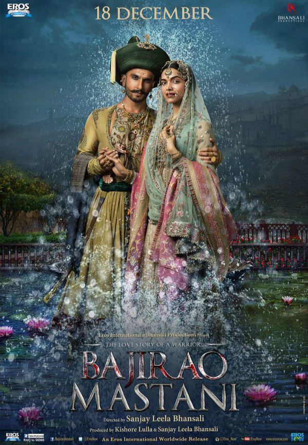 A eternal love musical story with Bajirao Mastani ( 2015 ) ♥
