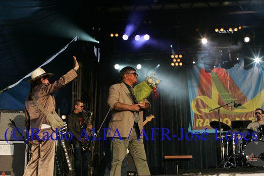 José Cid esteve na Festa da Radio ALFA e dos Santos Populares