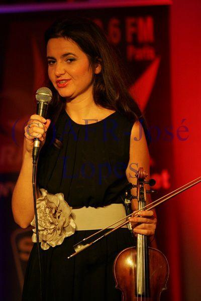 Natalia Juskiewicz Soirée FADO Radio ALFA (Paris) 28/11/2014