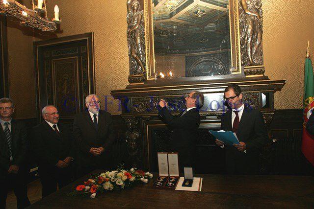 Condecorações  no Consulado de Portugal em Paris