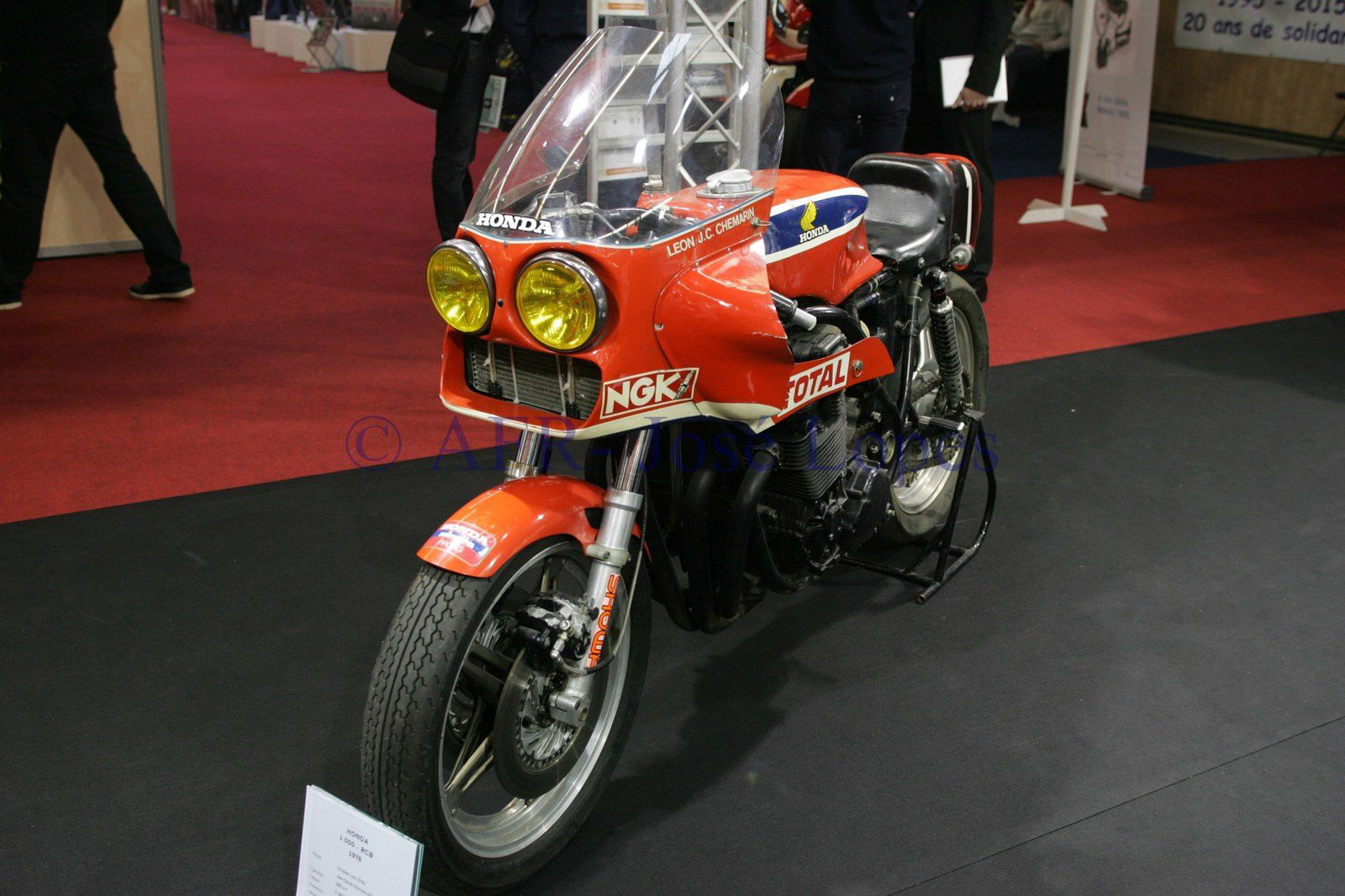 Salão da Mota, Scooter e Quad de Paris 2015