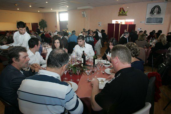 Repas traditionnel de fin d'année, offert par la Famille Armando Lopes