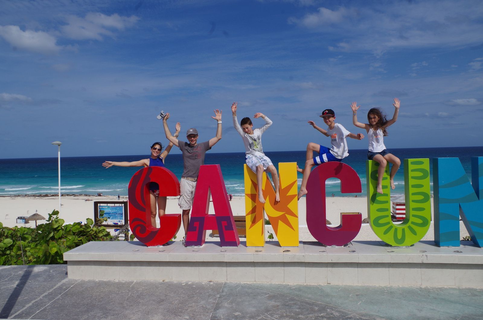 Flying to Cancun..#1
