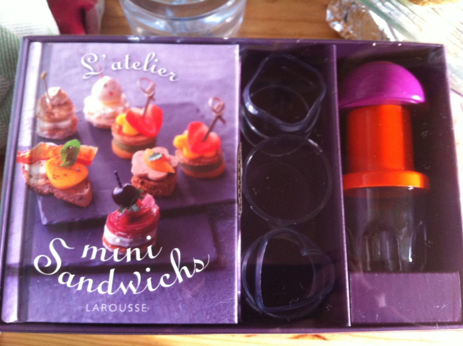 L'atelier de minis sandwichs Larousse