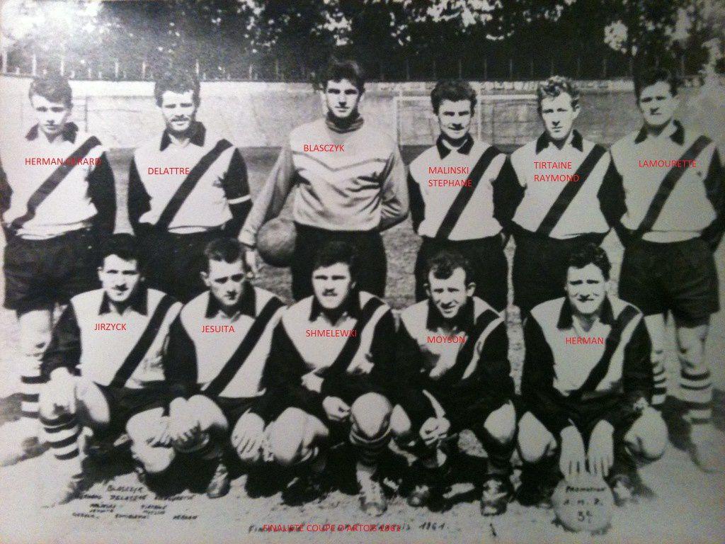 L'équipe finaliste, au premier rang tout à gauche, il s'agit d'Eugène GRZYCH, dit Gének.